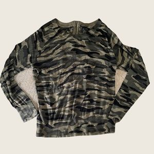 Size 2 Torrid Camouflage Longsleeve Pullover